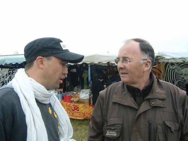 Jean GAUBERT avec Samuel Raymond, médiateur régional des multisons